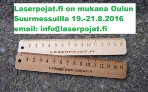 oulun suurmessut 2016 laserpojat.fi
